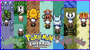 Game Pokemon Emerald Việt Hóa
