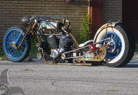 radical honda v twin chopper bikermetric