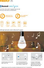 Pro Series Led Bluetooth Speaker Lamp Firefly Electric Lighting