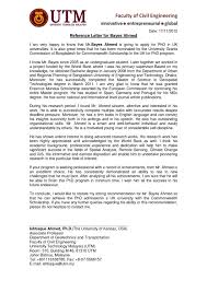 Letter Of Recommendation For Civil Engineer Ishtiaque Ahmed_rl By Bayes Ahmed Issuu