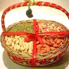 mixed dry fruit gift basket