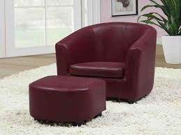 epic red leather chair with ottoman 67 on modern sofa design with red leather chair with