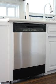 Transform ordinary appliances into stainless steel with this easy &  inexpensive DIY with stainless steel contact paper
