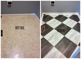 paint for tile floorsTransform a Laundry Room Floor with Peel and Stick Tiles  DIY
