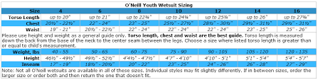O Neill Youth Size Chart Details About Oneill Reactor Kids 2mm Neoprene Shorty Wetsuit Spring Suit Surf Snorkel Swim