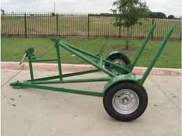 SINGLE BALE HAY HAULER | Farm and Garden | Farm tools, Tractor ...