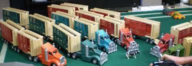 wooden cattle truck