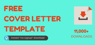 free cover letter downloads download free cover letter template