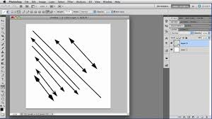 With that set, draw out the shape that you want the dotted line to go around. The Line Tool Photoshop Tutorial Youtube