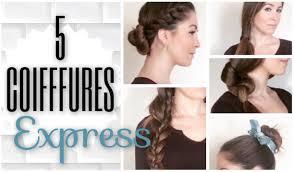 Coiffure Femme Facile A Faire Cheveux Mi Long