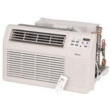 amana 12 000 btu 230 volt 208 volt through the wall air conditioner with 3 5 kw electric heat and remote pbe123g35cc the home depot