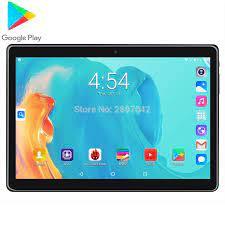 2020 10 Inch 3G 4G LTE Gọi Điện Thoại 96GB Rom Android Viên Máy Tính 3000  MAh 1280*800 IPS Camera Kép Wifi A GPS Máy Tính Bảng Android
