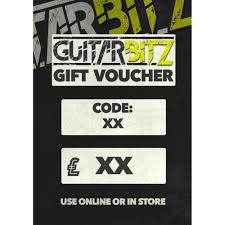 guitarbitz gift voucher