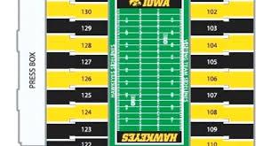 Kinnick Stadium Seating Chart Turf Scape Co