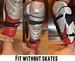 Shin Guard Shin Pad Guide For Hockey Players