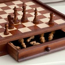 Wooden Board Game Sets Camphor 100 in Chess and Checkers Set with Storage Walmart 91