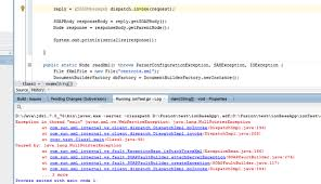 exception in thread main java lang