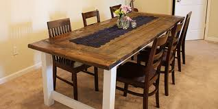 kitchen table. interesting farmhouse dining table plans with remodelaholic build a kitchen