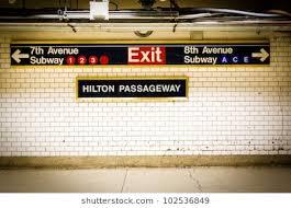subway station wall. Contemporary Wall NYC Penn Station Subway Directional Sign On Tile Wall With Subway Wall