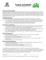 Sample Resume For Medical Technologist Creative Consultant Sample