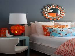 Orange And Blue Bedroom Blue And Orange Bedroom Ideas House Colour Combination Interior
