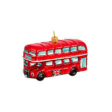 british double decker bus ornament 55 liked on polyvore