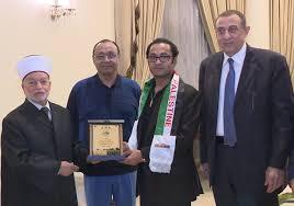 al aqsa grand mufti calls on bashundhara chairman ahmed akbar sobhan