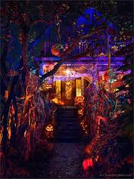 halloween lighting. And The Award For Most Exquisite Halloween Haunt Goes ToMore Images Of Lighting