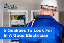 blog pme limited 5 qualities to look for in a good electrician in the uk