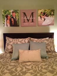 Custom canvas prints of wedding pictures in master bedroom #canvas  #walldecor | Janet's Big Day | Pinterest | Bedroom canvas, Master bedroom  and Bedrooms