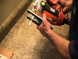 how to cut out a countertop for a basin ot sink plumbing tips