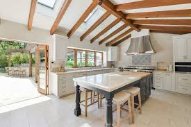 Vaulted Ceiling Kitchen Open Vaulted Ceiling Kitchen Design With White Cabinet Interior