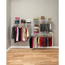 wire closet organizer ideas on wall