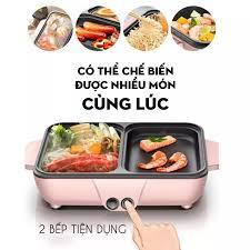 Bếp điện lẩu, nướng 2 ngăn mini: Mua bán trực tuyến Lò nướng với giá rẻ