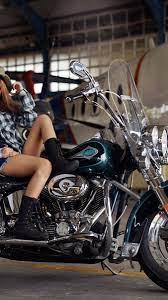 Bike Harley-Davidson Blue 4K Wallpaper ...