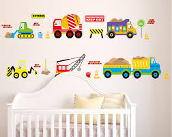 creative cartoon car wall stickers for children kids room nursery