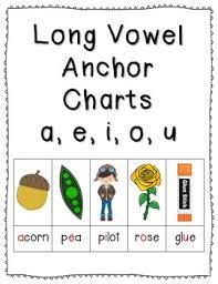 Long Short Vowel Anchor Charts Practice Mega Bundle Click File Print