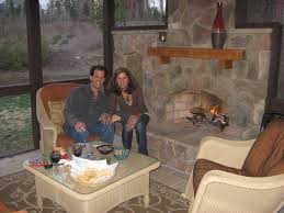 screened in porch with fireplace. Archadeck Of Charlotte Stone Outdoor Fireplace Inside Screen Porch Screened In With