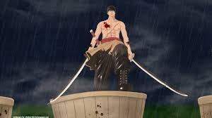 Kết quả hình ảnh cho zoro dùng 2 thanh kiếm