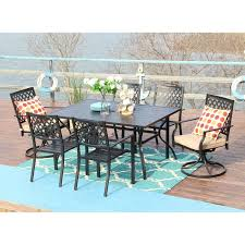 thibeault 7 piece dining set with