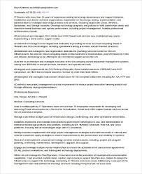 Fresh Sample Resume For It Companies 20 It Resume Samples Pdf Doc