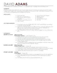 Retail Sales Associate Resume Interesting Resume Sample For Retail Retail Sales Associate Resume Example