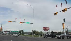 Alberta Traffic Lights File Stampede Traffic Signal Jpg Wikimedia Commons