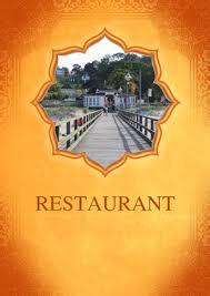 Menu Indian Restaurant Menu Template By Chris