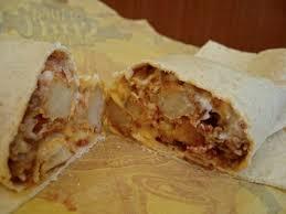 taco bell cheesy potato burrito. Bacon Cheesy Potato Burrito From Taco Bell For