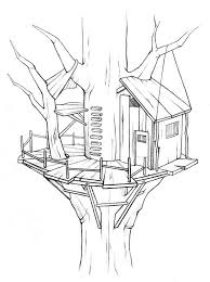 Small Picture Awesome Treehouse Coloring Page Awesome Treehouse Coloring Page