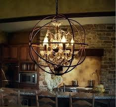 world market metal orb chandelier picture design