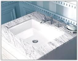 kohler archer undermount sink template