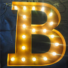 Red Light Up Marquee Letters Led Bulb Light Up Metal Marquee Vintage Sign Letters For Shop Decoration Buy Sign Letters Sign Letters Sign Letters Product On Alibaba Com