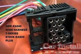 oem stock radio wiring harness install bmw 7 series image is loading oem stock radio wiring harness install bmw 7